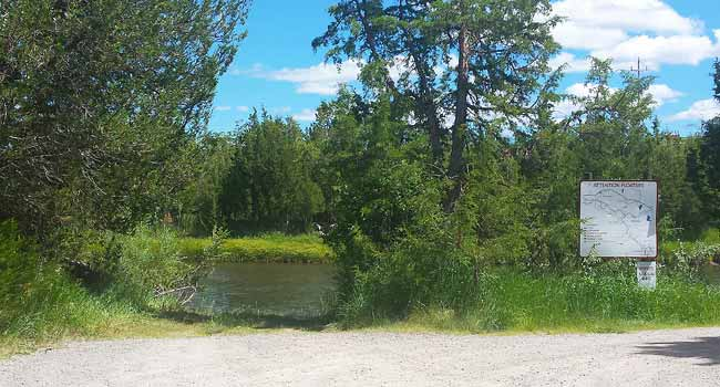 Cedar Meadows Fishing Access and Launch