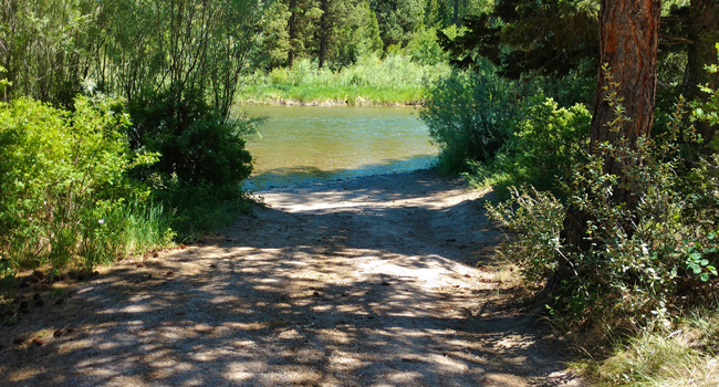 River Junction Fishing Access and Campground